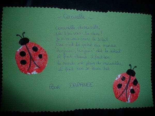 Coccinelle cadeau pour daphn e - Cadeau pour son frere ...